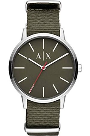 Armani Exchange Reloj Analogico para Hombre de Cuarzo con Correa en Nailon AX2709