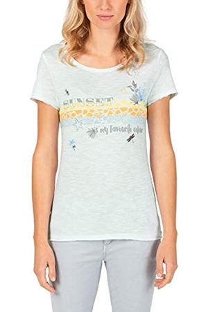 Timezone Printed Basic Roundneck Camiseta XL para Mujer