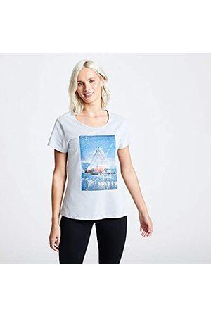Dare 2B Summer Nights-Camiseta con Estampado Gráfico De Algodón Transpirable Y Manga Corta T-Shirts/Polos/Vests, Mujer