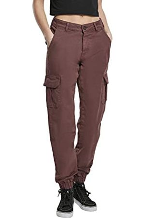 Urban classics Ladies Hose High Waist Cargo Pants Pantalones