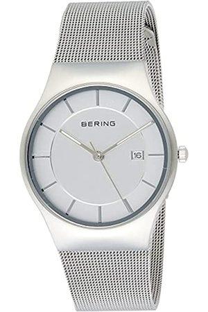 BERING Reloj Analógico Classic Collection para Hombre de Cuarzo con Correa en Acero Inoxidable y Cristal de Zafiro 11938-000