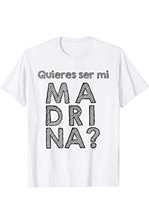 Playeras para eventos religiosos en Espanol Quieres ser mi Madrina? Playera para bautizo o confirmacion Camiseta