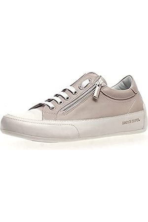 Candice Cooper R.Deluxe Zip, Oxford Plano Mujer, Bianco/Chat Grey