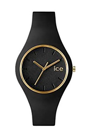 Ice-Watch Mujer Relojes - Ice Glam Black - Reloj para Mujer con Correa de Silicona