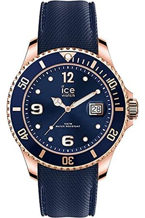 Ice-Watch Ice Steel Blue Rose-Gold - Reloj para Hombre con Correa de Metal