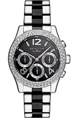 s.Oliver SO-2648-MM - Reloj analógico para Caballero de Acero Inoxidable Recubierto