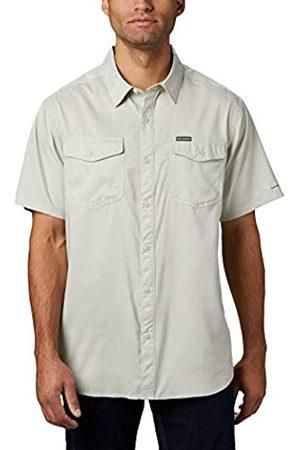 Columbia Utilizer II Camisa De Manga Larga Lisa, Hombre, Pixel