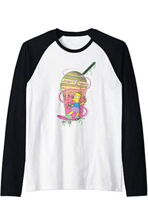 The Simpsons Bart Simpsons Kwik-E-Mart Squishee Camiseta Manga Raglan