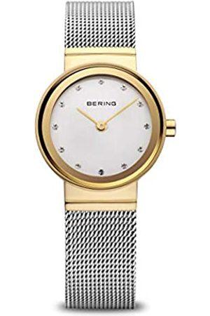 BERING Mujer Relojes - Reloj Analógico Classic Collection para Mujer de Cuarzo con Correa en Acero Inoxidable y Cristal de Zafiro 10122-001