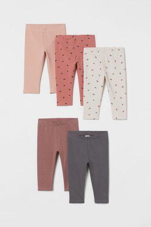 H & M Pack de 5 leggings