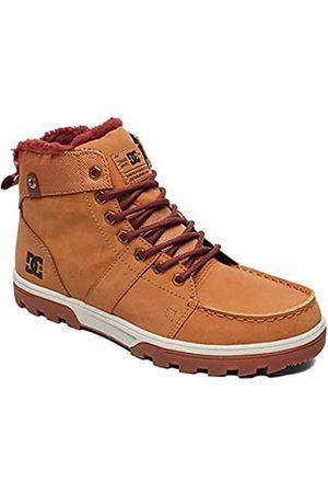 DC Dcshoes Woodland-Leather Lace-up Winter Boots for Men, Zapatos de Senderismo Hombre