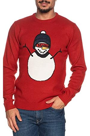 ONLY ONSXMAS 7 Funny Front Badge Knit Suter Pulver