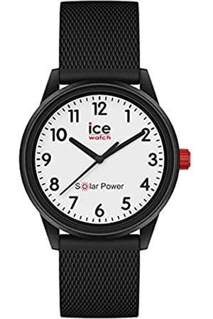 Ice-Watch Ice Solar Power Black Mesh Reloj con Correa de Silicona para Mujer, Small