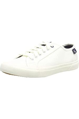 Joules Sustainable Coast Pump, Zapatillas Mujer, White