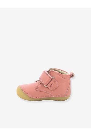 KICKERS Bebé Zapatos - Botines de piel para bebé Sabio ® Primeros Pasos medio liso
