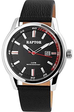 Raptor Reloj Análogo para de los Hombres de Cuarzo con Correa en Cuero RA20287-002