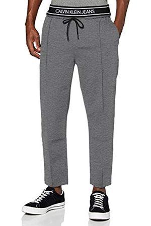 Calvin Klein Logo Tape Slim Melange Jogger Pantalones