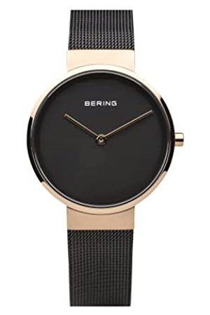Bering Reloj Analógico Classic Collection para Mujer de Cuarzo con Correa en Acero Inoxidable y Cristal de Zafiro 14531-166