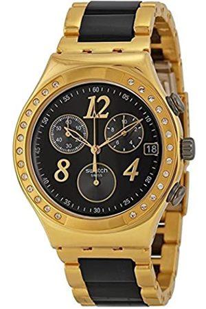 Swatch Reloj de Cuarzo Woman DREAMNIGHT Yellow YCG405G 40.0 mm