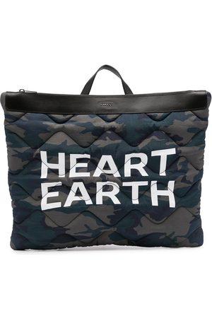 Ports V Mochilas - Mochila Heart Earth con estampado militar