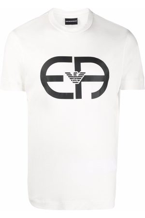 Emporio Armani Hombre Manga corta - Camiseta de manga corta con logo estampado