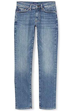 GANT Slim Jeans Pantalones Ajustados 40W x 36L para Hombre