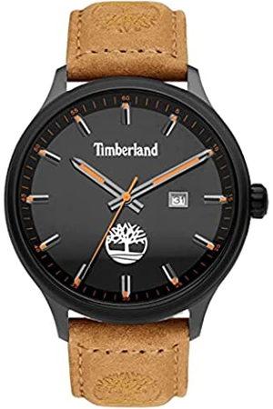 Timberland Reloj Analógico para Hombre de Cuarzo con Correa en Cuero TDWGB2102201
