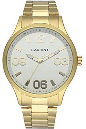 Radiant Reloj analógico para Hombre de . Colección Leader. Reloj con Brazalete y Esfera Blanca. 5ATM. 45mm. Referencia RA563201.