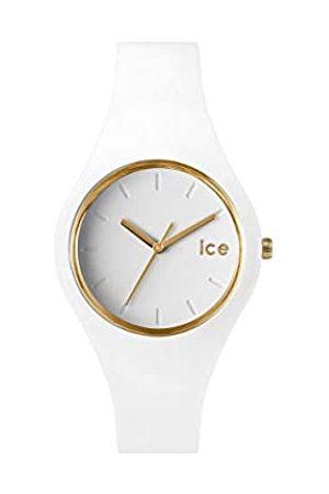 Ice-Watch Ice Glam White - Reloj para Mujer con Correa de Silicona