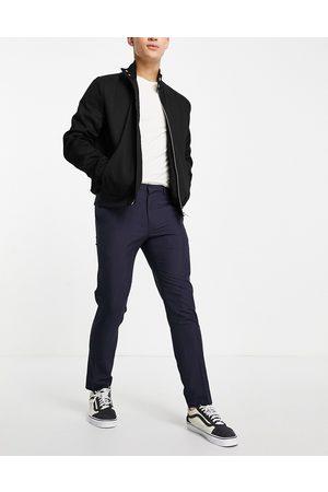 Burton Pantalones de traje medio a cuadros de corte pitillo de Burton