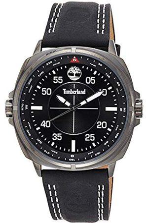 Timberland Reloj Analógico para Hombre de Cuarzo con Correa en Cuero TBL.15516JSU/02
