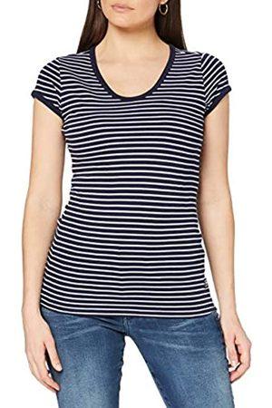 G-Star Core Eyben Slim Camiseta, Sartho Blue Elise C483-c250-Bolsa de Viaje