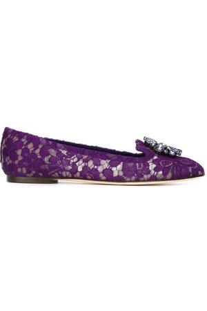 Dolce & Gabbana Ballerina shoes Morado, Mujer, Talla: 36 1/2