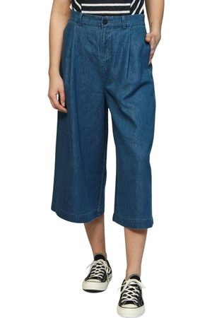 Denham Ravine Coulotte ITT Washed Trousers , Mujer, Talla: XS