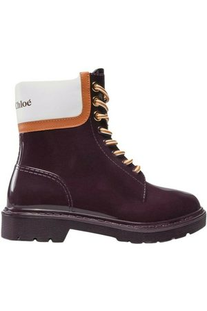 See by Chloé Florrie Boots Morado, Mujer, Talla: 40