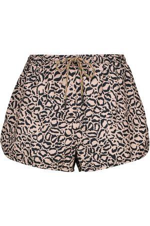 The Upside Mujer Estampados - Shorts Efrem con print de leopardo