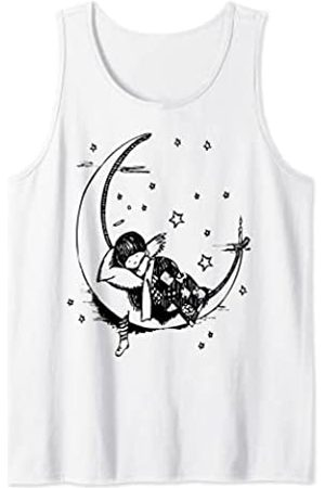 Fashion Tees Pijama de luna creciente Camiseta sin Mangas