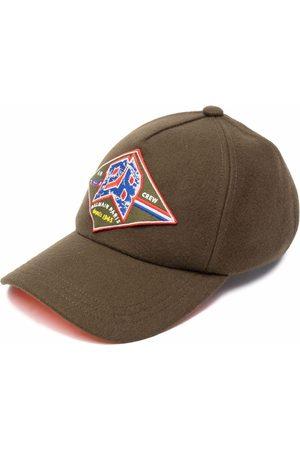 Balmain Hombre Gorras - Gorra con parche del logo