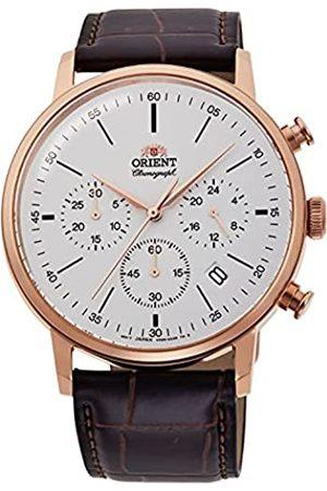 Orient Reloj Analógico para Hombre de maquinaria Japonesa de Cuarzo con Correa en Cuero RA-KV0403S10B