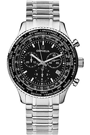 ORPHELIA Reloj Cronógrafo para Hombre de Cuarzo con Correa en Acero Inoxidable OR82703