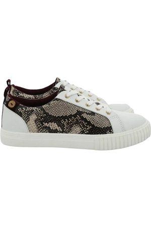 Faguo Leather Balsa Sneakers , Mujer, Talla: 36