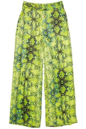Zoe Karssen Odessa Palazzo Snake Pants , unisex, Talla: S