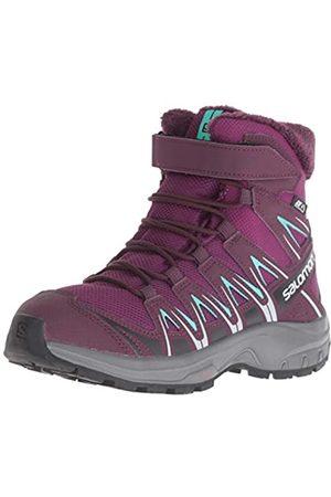 Salomon XA Pro 3D Winter TS CSWP J, Calzado de Invierno Unisex Niños, Morado (Dark Purple/Potent Purple/Atlantis)