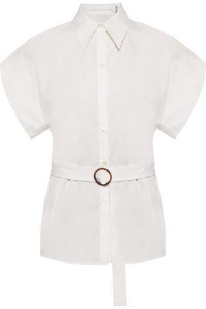 Victoria Beckham Belted waist shirt , Mujer, Talla: UK 12