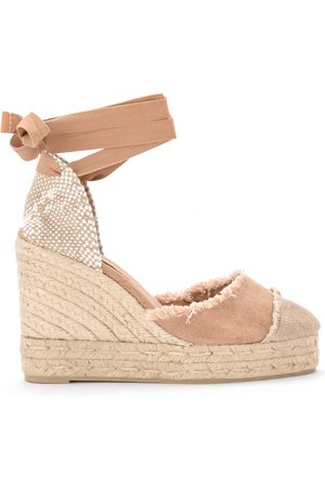 Castañer Catalina canvas and natural jute wedge sandal , Mujer, Talla: 40
