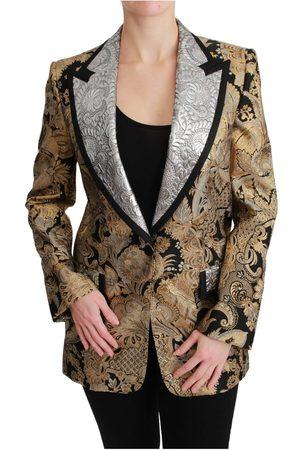 Dolce & Gabbana Jacquard Blazer Jacket , Mujer, Talla: 40 IT