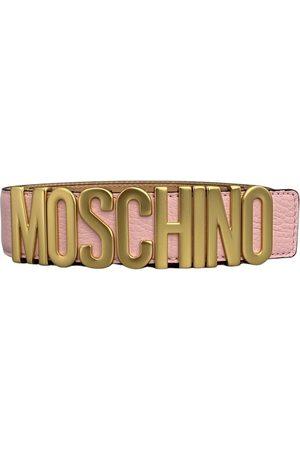 Moschino Cinturon Lettering , Mujer, Talla: 42 cm
