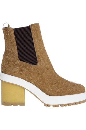 Hogan Suede ankle boot with 65 mm heel , Mujer, Talla: 37 1/2