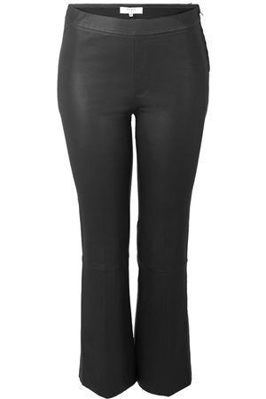 Dante 6 Leather Trousers Tayson Crop Flare , Mujer, Talla: XS