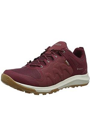 Keen Explore Waterproof, Zapatos para Senderismo Mujer, Tawny Port/Satellite